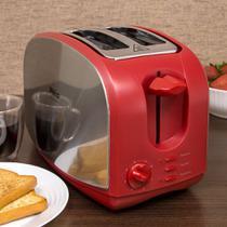 Torradeira Elétrica French Toast Inox Vermelha - Philco -
