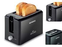 Torradeira Elétrica Mondial T-05 Toast Due Black 800w -