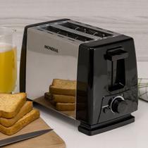 Torradeira Elétrica Mondial Toast Duo Nt-01 Prata -