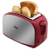 Torradeira French Toast Vermelha 220 Volts-Philco -