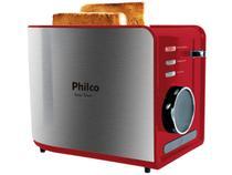 Torradeira Philco Easy Toast 7 Níveis de Tostagem - Função Descongelar