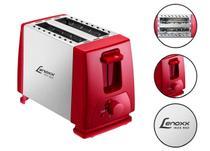 Torradeira Red Inox Tostadeira Elétrica 220v 2 Fatias - Lenoxx