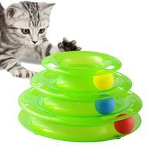 Torre Brinquedo Interativo com Bolas em Plastico - Verde - Gastrobel