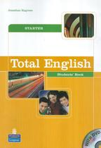 Total english starter sb with dvd - 1st ed - Pearson (importado) -