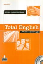 Total english upper-intermediate wb with key & cd-rom - 1st ed - Pearson (Importado) -
