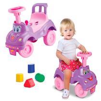Totoka Triciclo Infantil Bebe Carrinho Totokinha Menina Rosa - Cardoso
