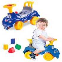 Totoka Triciclo Infantil Bebe Carrinho Totokinha Menino Azul - Cardoso