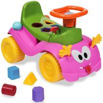Totokinha Infantil Criança Carrinho Passeio Quadriciclo Modelo Bolinha Para Menina Menino Marca Cardoso Toys Varias Cores -