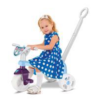 Totokinha Triciclo Motoca Brinquedo Infantil Velotrol C/ Hast - Snow Ref - 0615 - Samba Toys