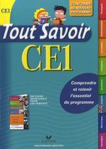 Tout savoir ce1, edition 2009 - Hatier