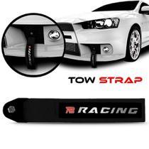 Tow Strap Hook Racing Fita Cinta De Reboque Engate - P2 ACESSORIOS