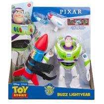 Toy STORY 4 Disney Figuras com Acessorios BUZZ Lightyear Mattel GJH46 -