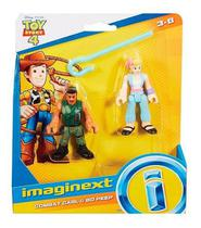 Toy Story 4 Imaginext Toy Bo Peep E Combate Carl - Gbg89 - Mga