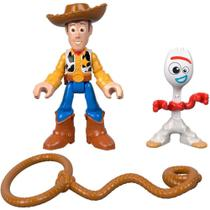 Toy Story 4 Imaginext Woody E Forky - Mattel