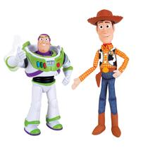Toy Story Kit Parceiros Figuras de Ação Buzz Lightyear e Woody - Toyng