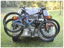 Transbike Suporte Bola Do Engate Até 3 Bikes + Sinalizador - Altmayer -