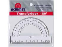 Transferidor Acrimet  180º   Cristal 551 -