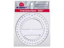 Transferidor Acrimet  360º   Cristal 552 -