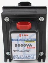 Transformador 5000va 110/220v Geladeira Duplex Bivolt - Casa Dos Transformadores