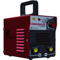 Transformador de solda bambozzi a serralheira 250 turbo 110/220v -