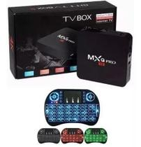 Transforme sua Tv em Smart Android 8.1 Netflix E Youtube + mini teclado leds + 3gb de RAm e 16gb Rom - Otto box universal