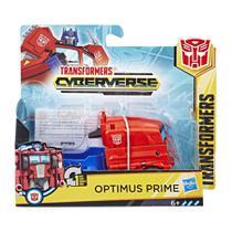 Transformers Cyberverse Step Changer - Optimus Prime - E3522- Hasbro -