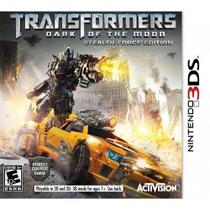 Transformers Dark Of The Moon Stealth Force 3ds - Nintendo