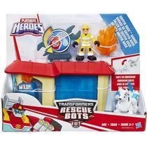Transformers Playskool Rescue Bots Oficina Griffin Rock  Hasbro -