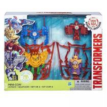 Transformers robots in disguise quatuor mini cons conjunto 4 transformer hasbro b5844 -
