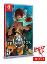Transistor Limited Run Nintendo Switch Mídia Física -