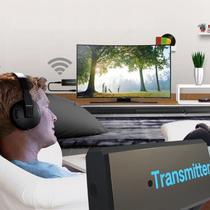 Transmissor Áudio Bluetooth P2 Áudio Da Sua TV Para O Fone Bluetooth ou Caixa BT - Comtac