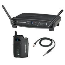 Transmissor com receptor sem fio body pack audio-technica atw-1101/g - freq. 2.4 ghz -