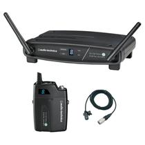 Transmissor com receptor sem fio lapela audio-technica atw-1101/l - freq. 2.4 ghz -