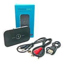Transmissor e Receptor Bluetooth 4.1 Adaptador 2 em 1 Sem Fio para Áudio Estéreo entre Diversos Dispositivos Blu2 - F3