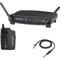 Transmissor sem Fio Digital AUDIO TECHNICA ATW-1101/G System 10 para Guitarra -