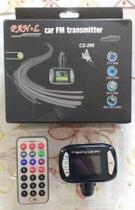 Transmissor Veicular Fm Mp3 USB Lê Pen Drive E Cartão Sd - Feir