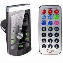 Transmissor Veicular Fm Mp3 Usb Pen Drive Cartão Micro Sd 12v - Feir