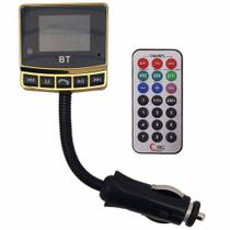 Transmissor Veicular Lys Fm Mp3 Usb Pen Drive Cartão Micro Sd E Bletooth Top - Feir
