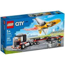 Transportador de Avião de Acrobacias Aéreas - Lego City 60289 -