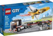 Transportador de Avião de Acrobacias Aéreas Lego City -