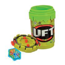 Trash Pack UFT - Giro Dispara Verde Militares - DTC -