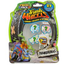 Trash Wheels Blister com 4 - Dtc