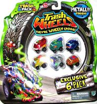Trash Wheels Blister com 6 - Dtc