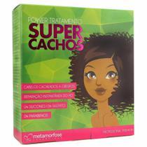 Tratamento Metamorfose - Super Cachos Kit Power 450ml -