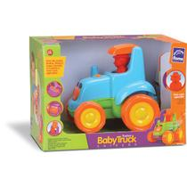 Trator Baby Truck Trator Musical Roma