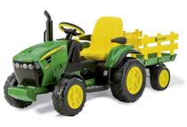 Trator Elétrico John Deere Ground Force 12volts - Peg-Pérego -