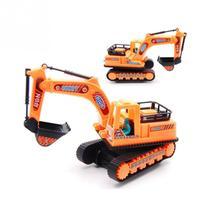 Trator Escavadeira Fricção MT-1154 - Toys
