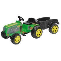 Trator fazendeiro grande pedal eco c/ cacamba - Biemme