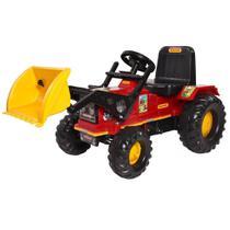 Trator Infantil Farmer com Pá - Biemme 302 -
