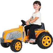 Trator Pedal Fazendeiro Amarelo - Biemme -